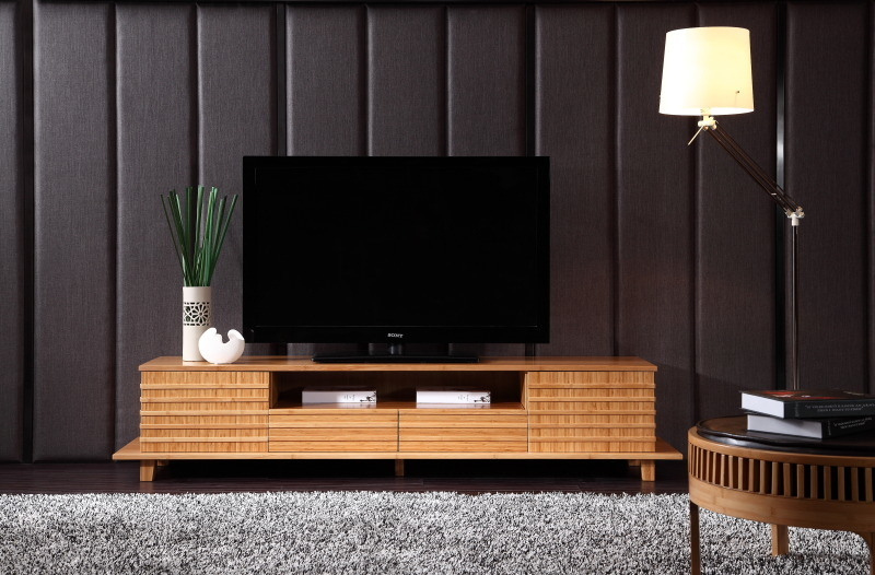 China Bamboo Lcd Tv Stand Led For Home Furniture