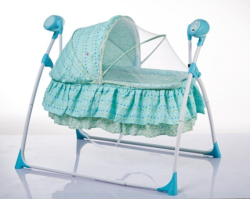 China Electric Baby Swing Bed China Electric Baby Swing