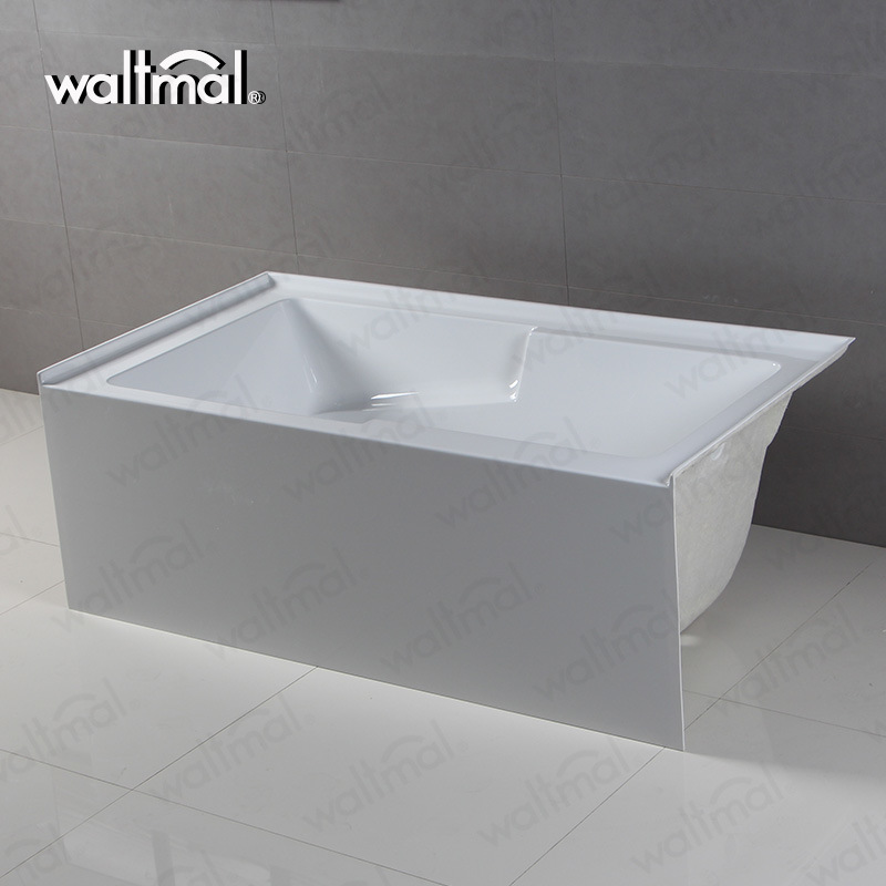 China 60 Inch Hotel Low Apron Skirt Alcove Installation Tub - China ...