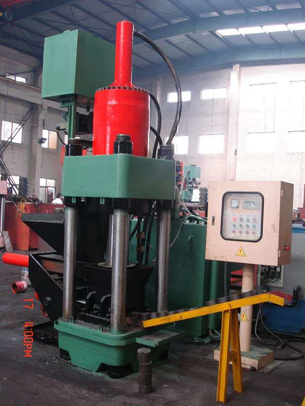 Briquetters Automatic Aluminum Iron Metal Scrap Hydraulic Briquette Recycling Machine-- (SBJ-315)