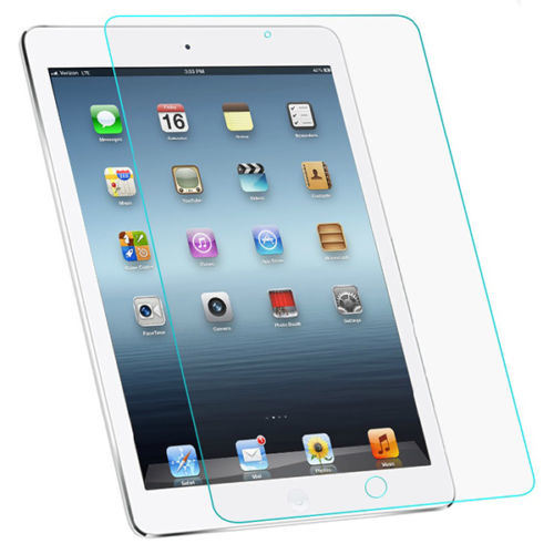 2 Pieces Premium Tempered Glass Screen Protector Film for Apple iPad 2 3 4