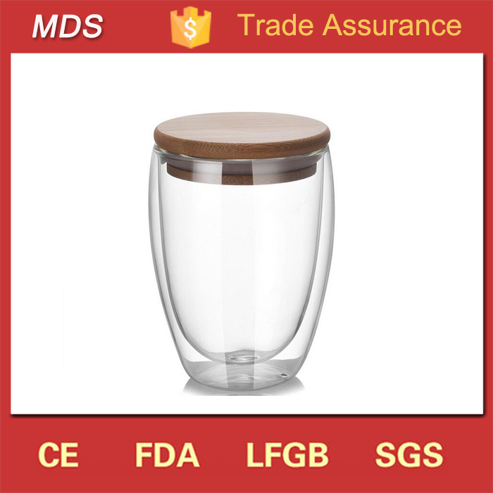 Wholesale Insulated Double Walled Glassware Tumbler Glass