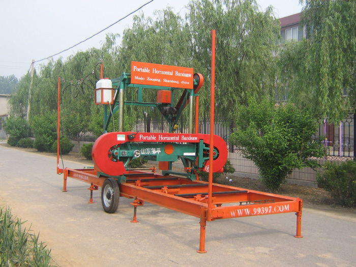 Portable Sawmill For Sale >> China Horizontal Band Saw Mills Portable Sawmill Sale - China Peterson Portable Sawmill Sale ...