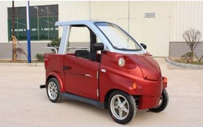 China Mini Electric Recreational Vehicle Car