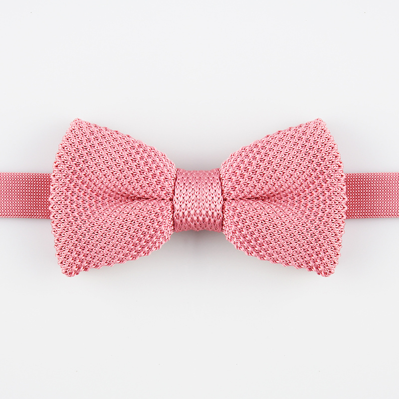 China Black Knit Bow Tie China Bow Tie Woven Tie