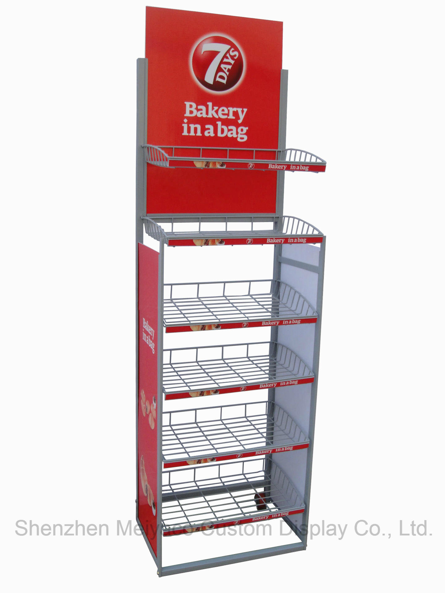 how floor rack stands compartment tray snack shelf display displays to customer your attract retail cardboard
