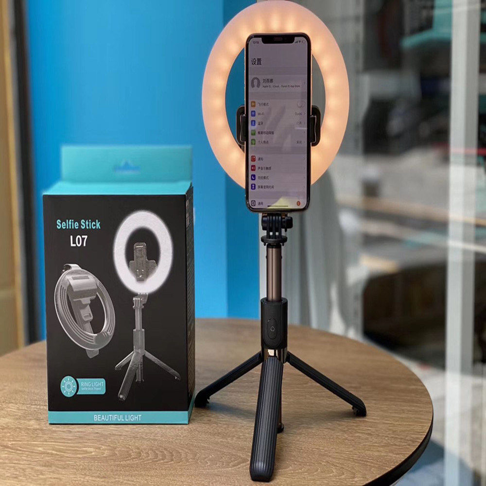 China Youtube Live Tiktok Live Stream Ring Light LED Selfie Ring Light with  Tripod Stand Foldable Wireless Selfie Stick Phone Holder - China Ring Light  and Photographic Lighting price