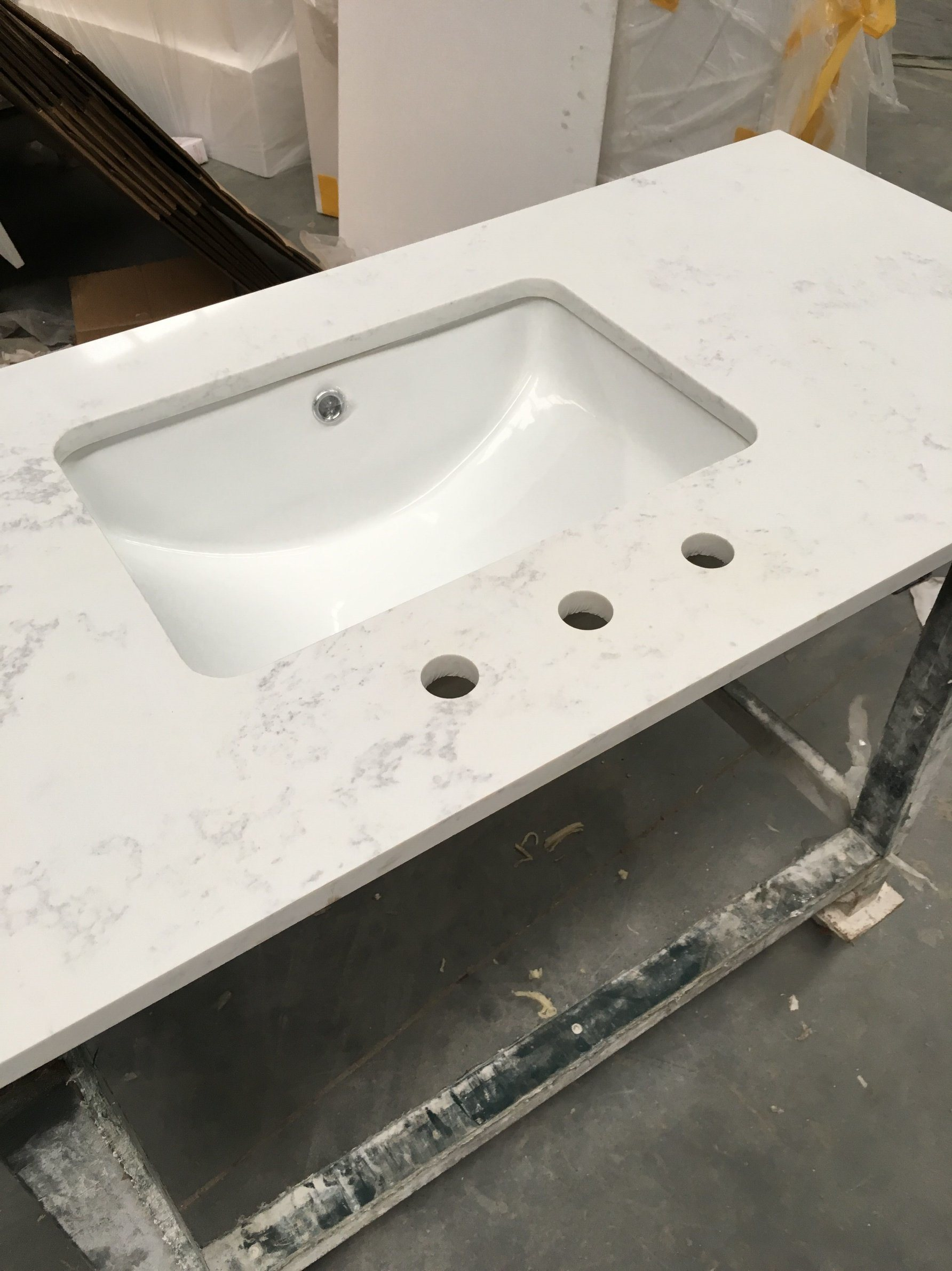 Sink Bathroom Vanity Top Bath