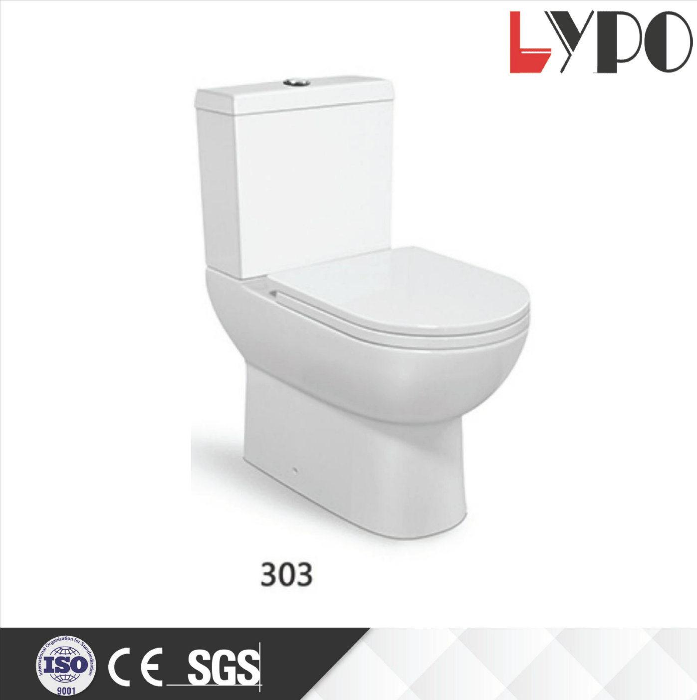China Lp2105 Ceramic Washdown Two Piece Wc Toilet Bowl Price - China ...