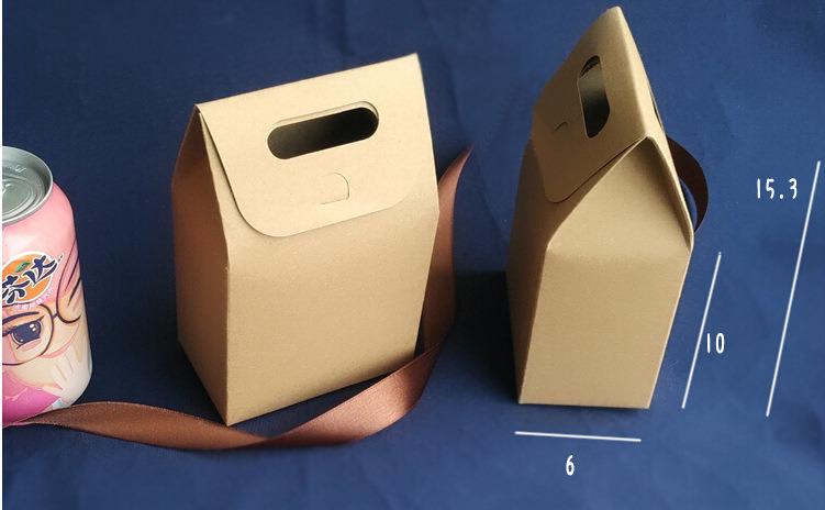 Packaging Packing Lamp Light Creative Design Kraft Paper Box
