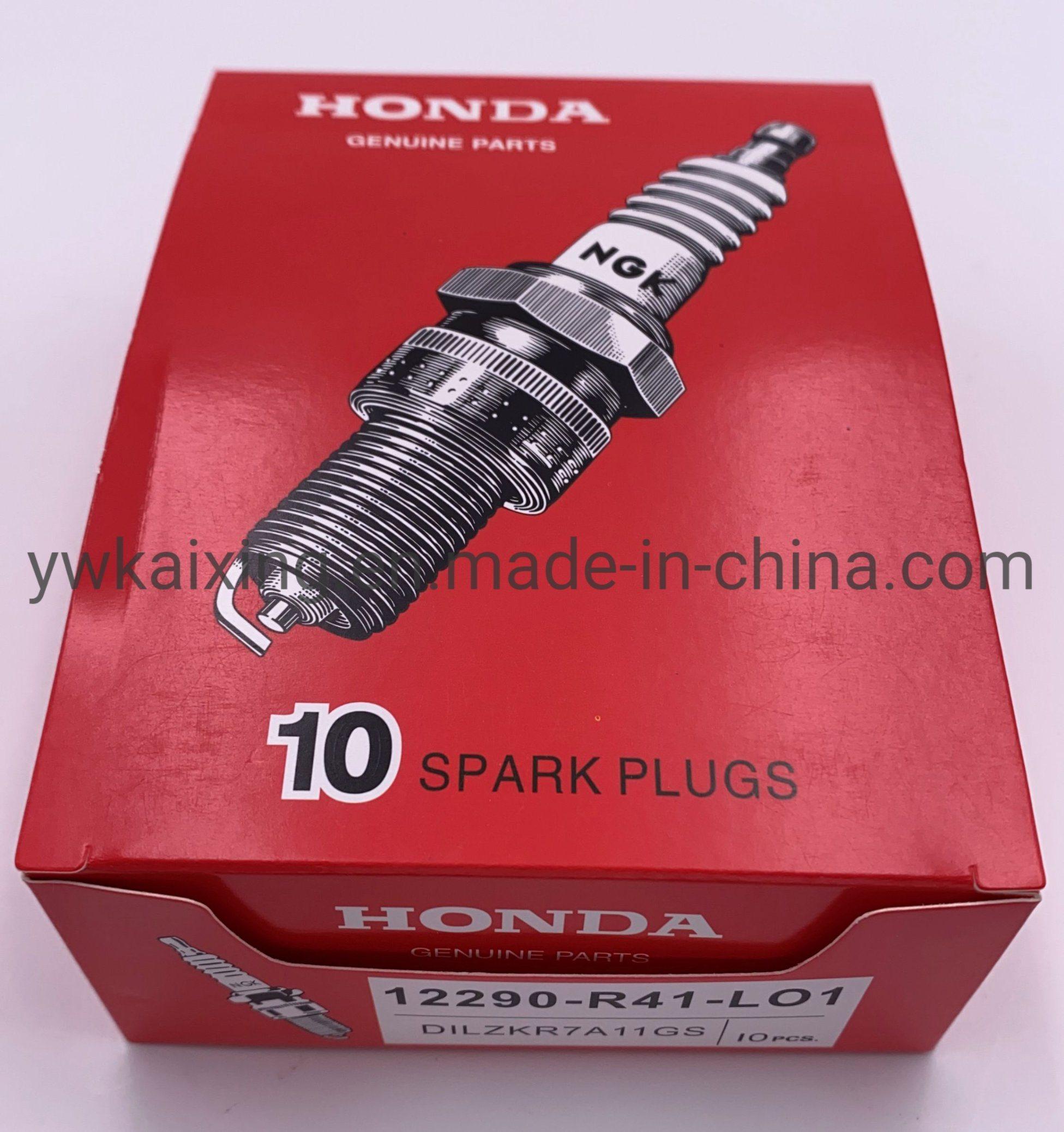 4PC New Iridium Spark Plugs 12290-R41-L01 DILZKR7A-11GS for Honda Accord Acura