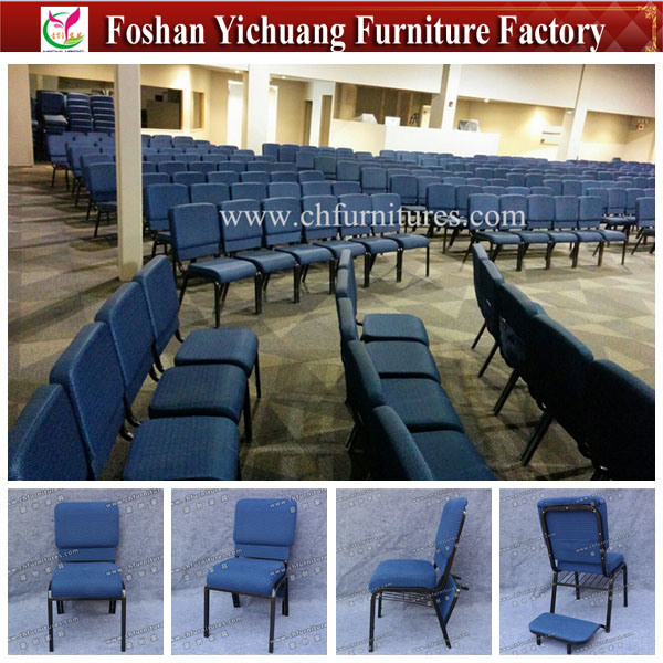 China Used Cheap Church Chair With Kneeler For Sale Yc G10 12