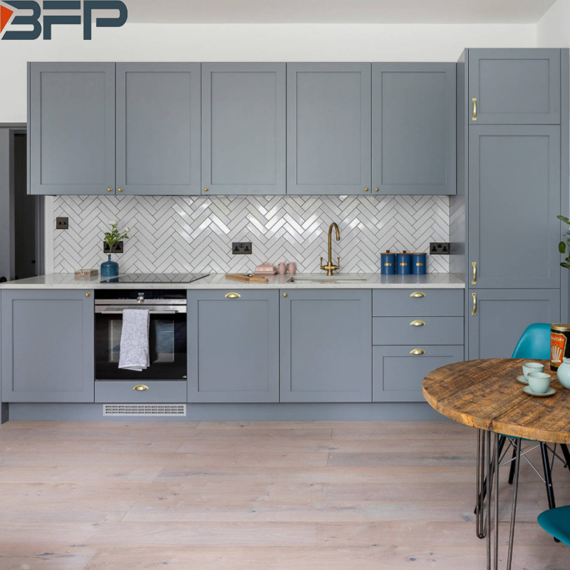 Small Eat In Laminated Kitchen Cabinets Grey Chinese Furniture China Kitchen Cabinets Kitchen Products