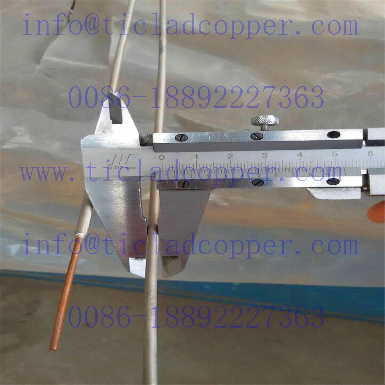 China Explosion Bonding Titanium Clad Copper Wire for Wet Metallurgy ...