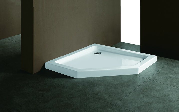 China (T02) Pure Acrylic Shower Tray / Shower Base for Shower ...