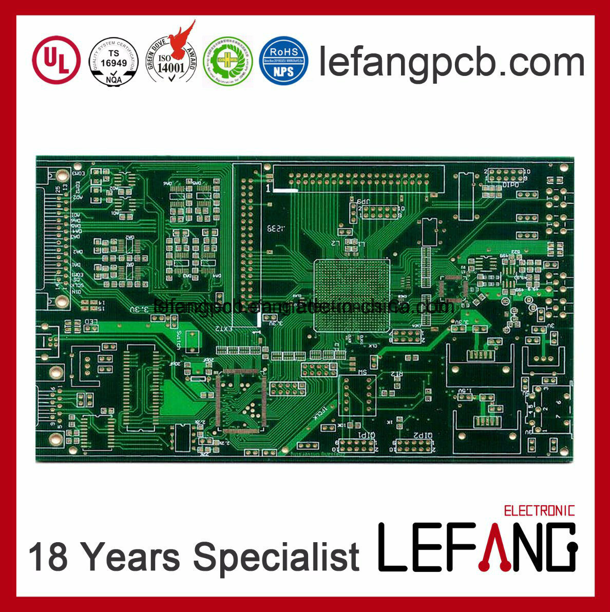 Wholesale Amplifier Circuit Buy Reliable From 3000w Stereo Power Hasl Lead Free Blind Vias Pcb Board For Communication