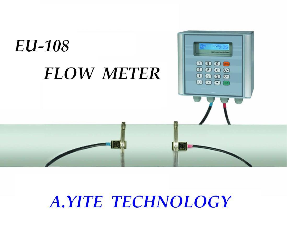 China Ultrasonic Flow Meter Eu 108 China Ultrasonic