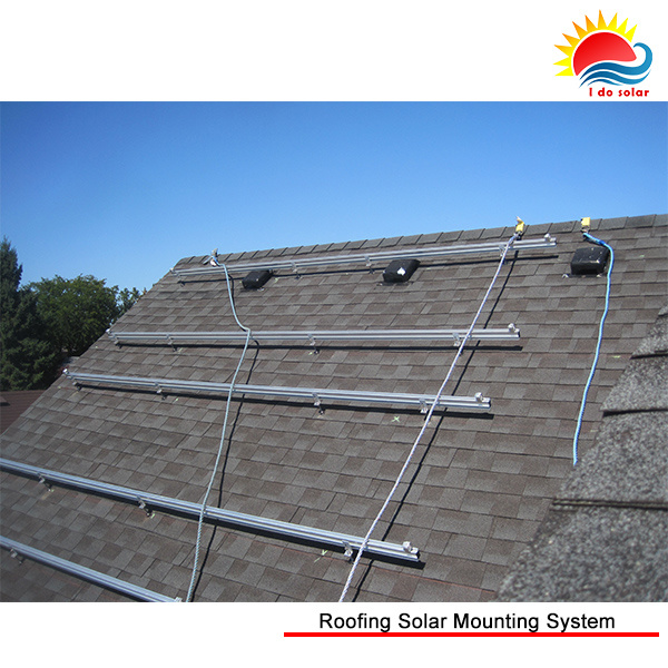 China Aluminum Flat Roof Tilt Angle Adjustable Solar ...