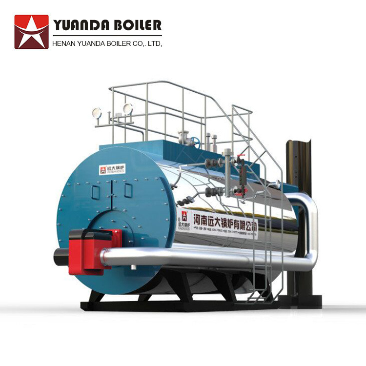 China Wns 3-Pass Wet Back Fire Tube Gas Steam Boiler - China Gas ...