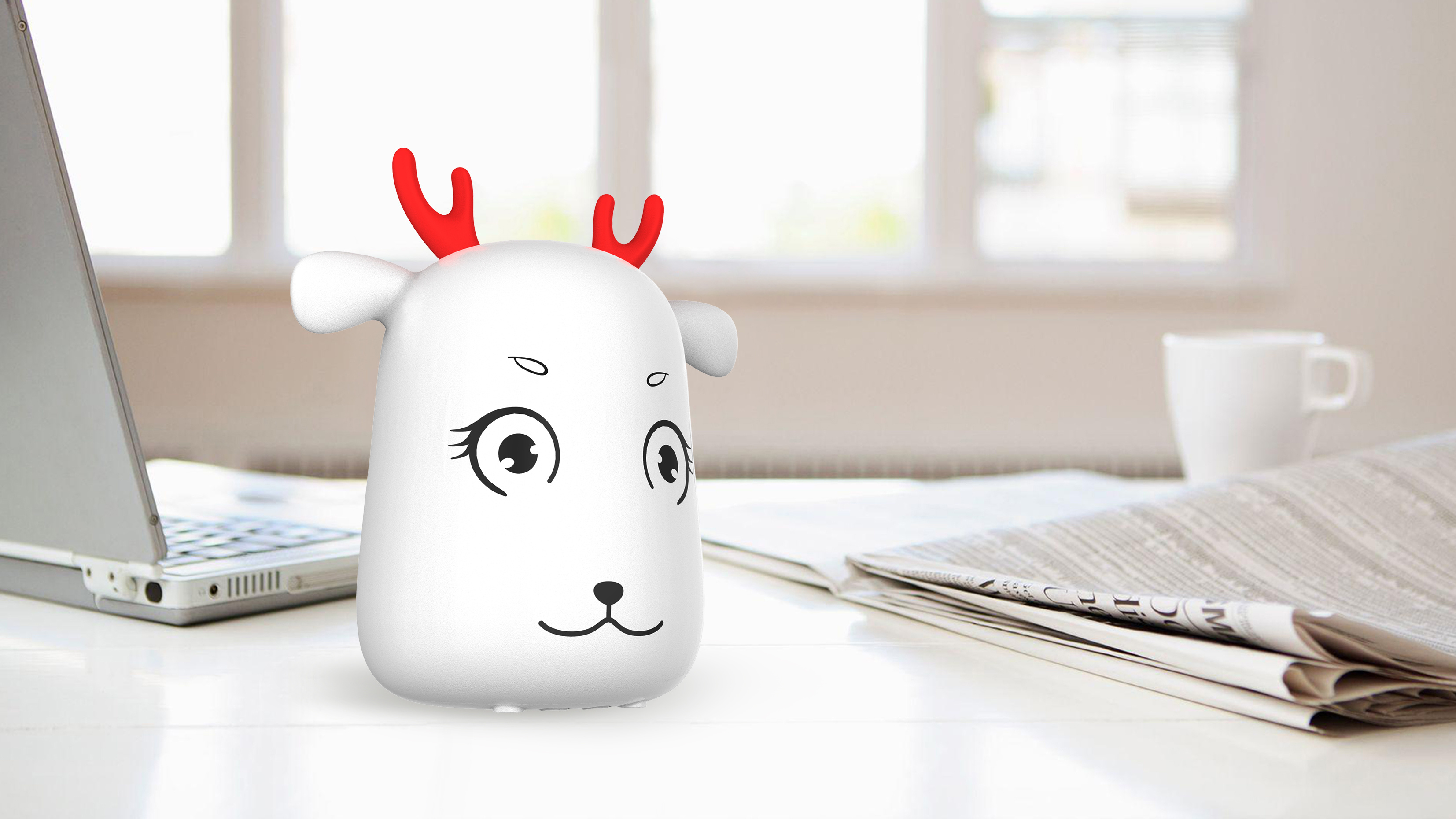 China Cute Cartoon Silicon Rechargeable Led Touch Lamp Night