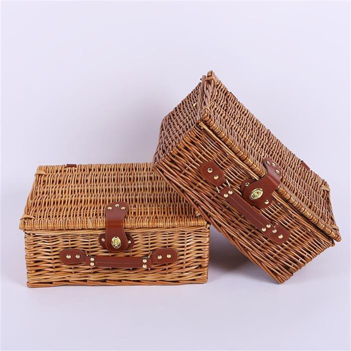 Empty Wicker Hamper Basket Gift