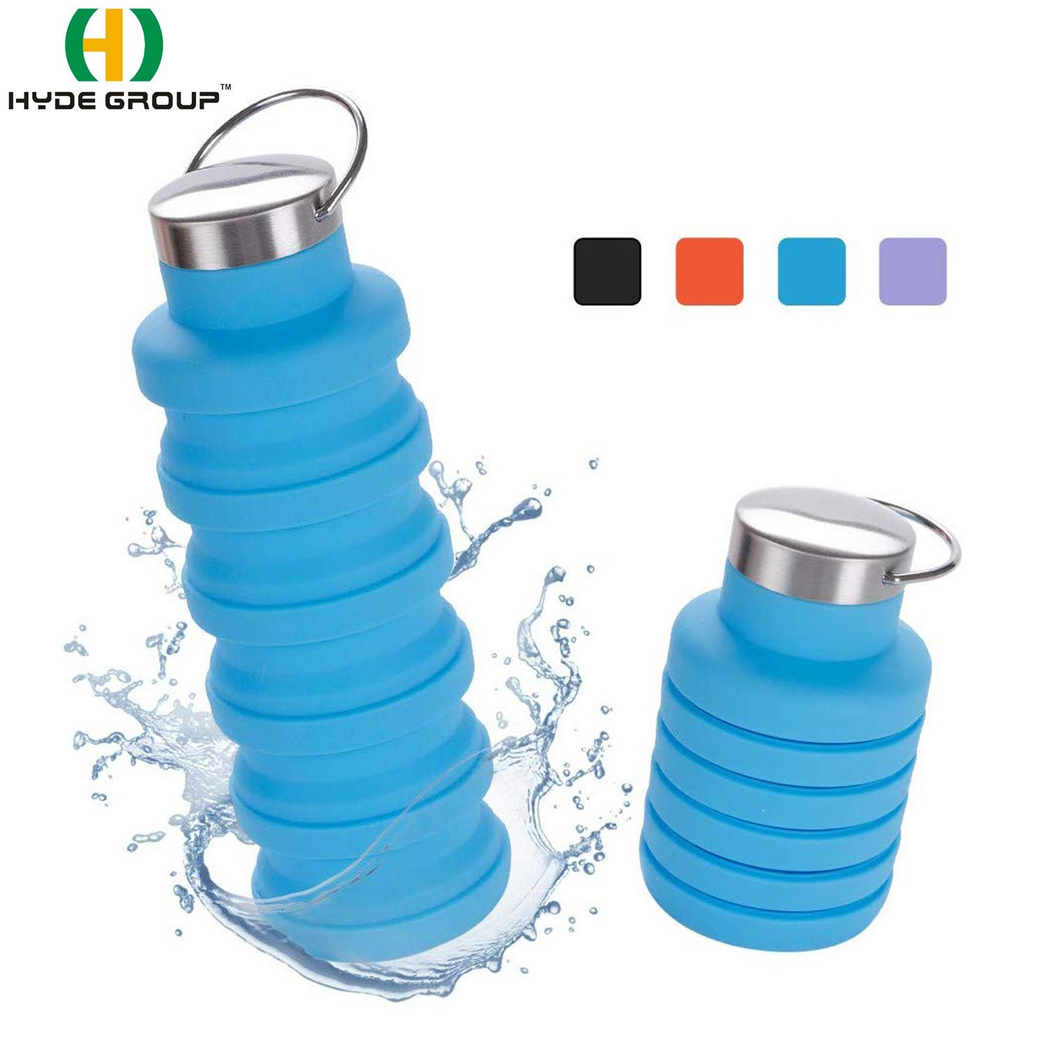 Silicone Collapsible Water Bottle
