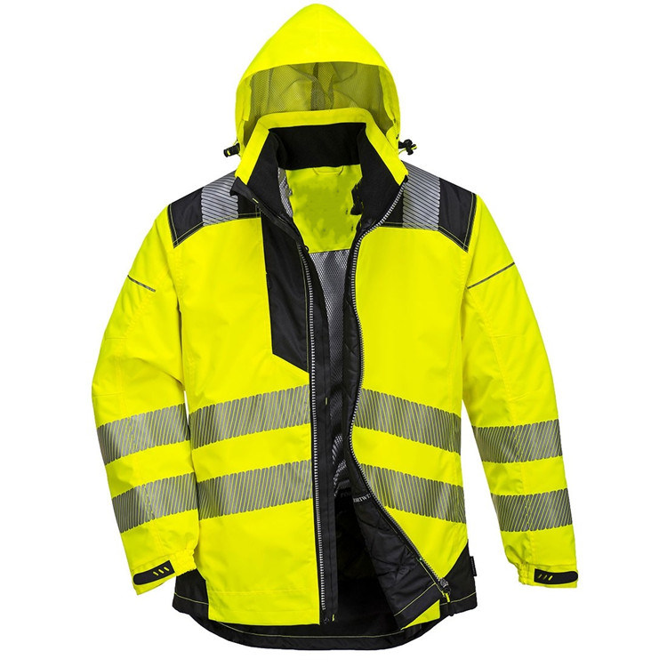 Custom High Visibility Waterproof Jacket