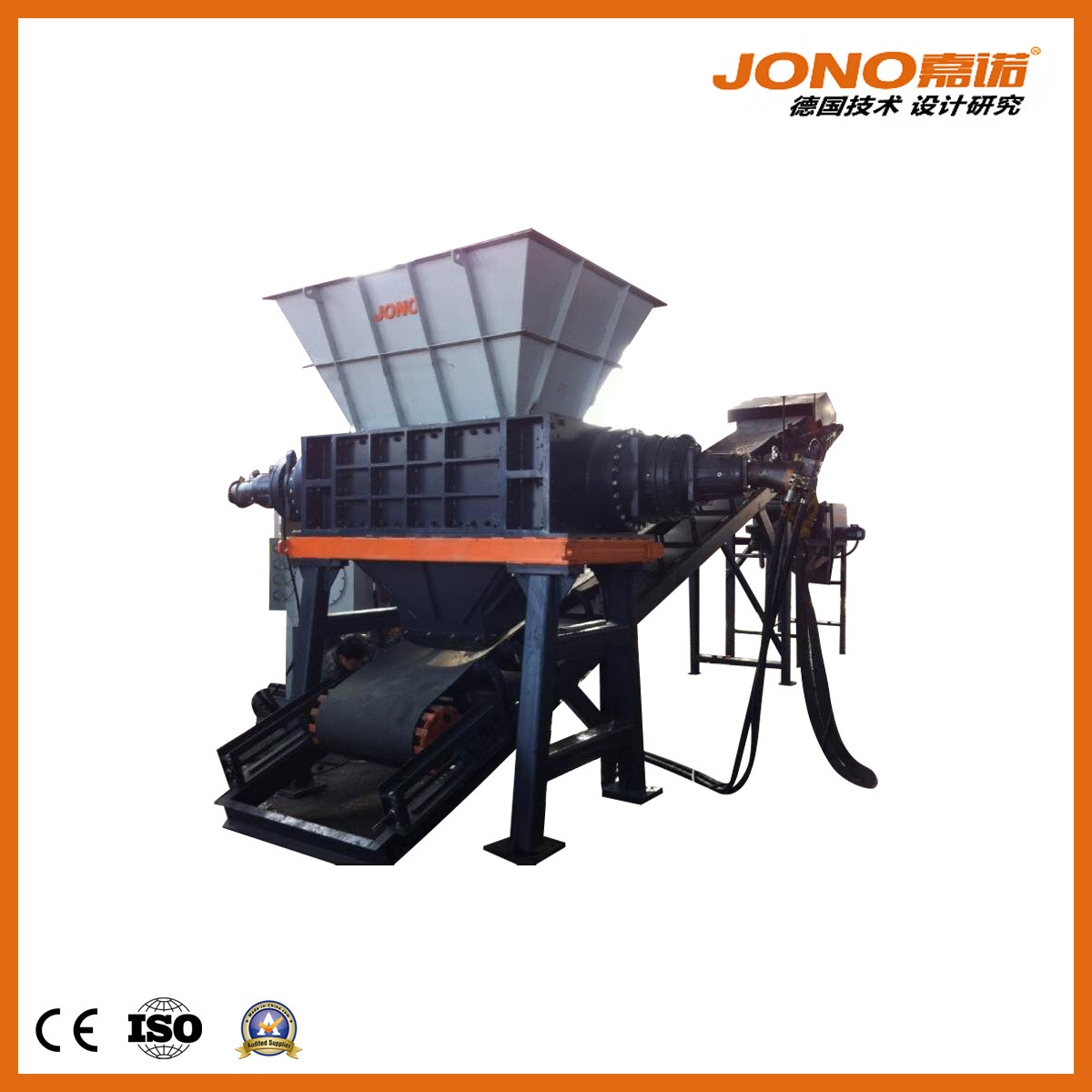China 1psl3410h Dual Shaft Shear Shredder For Metal Recycling Scrap Printed Circuit Board Equipment From Professional Industry