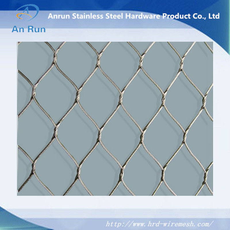China Animal Stainless Steel Wire Rope Mesh/Fence Factory - China ...