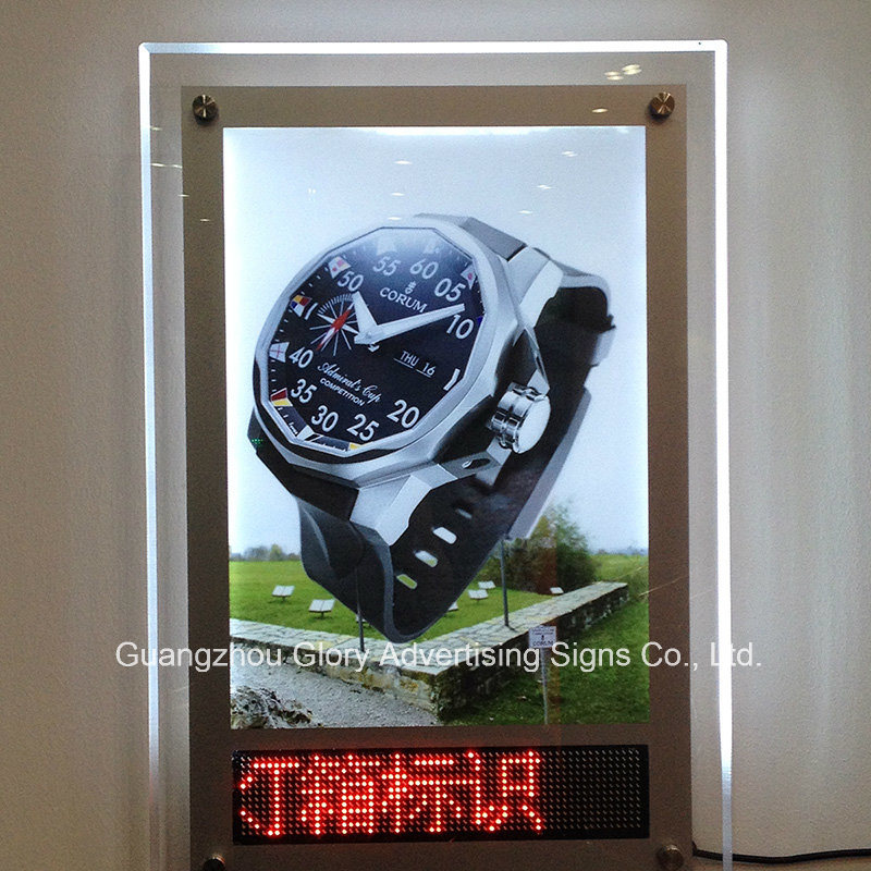 LED Walking Sign Light Box/LED Screen Display