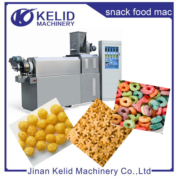 Multifunctional Hot Selling Automatic Puffed Snacks Machine pictures & photos