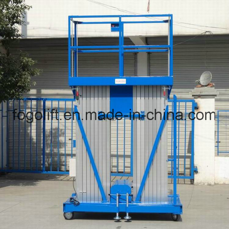 China Supplier Single Person Hydraulic Lift for Painting