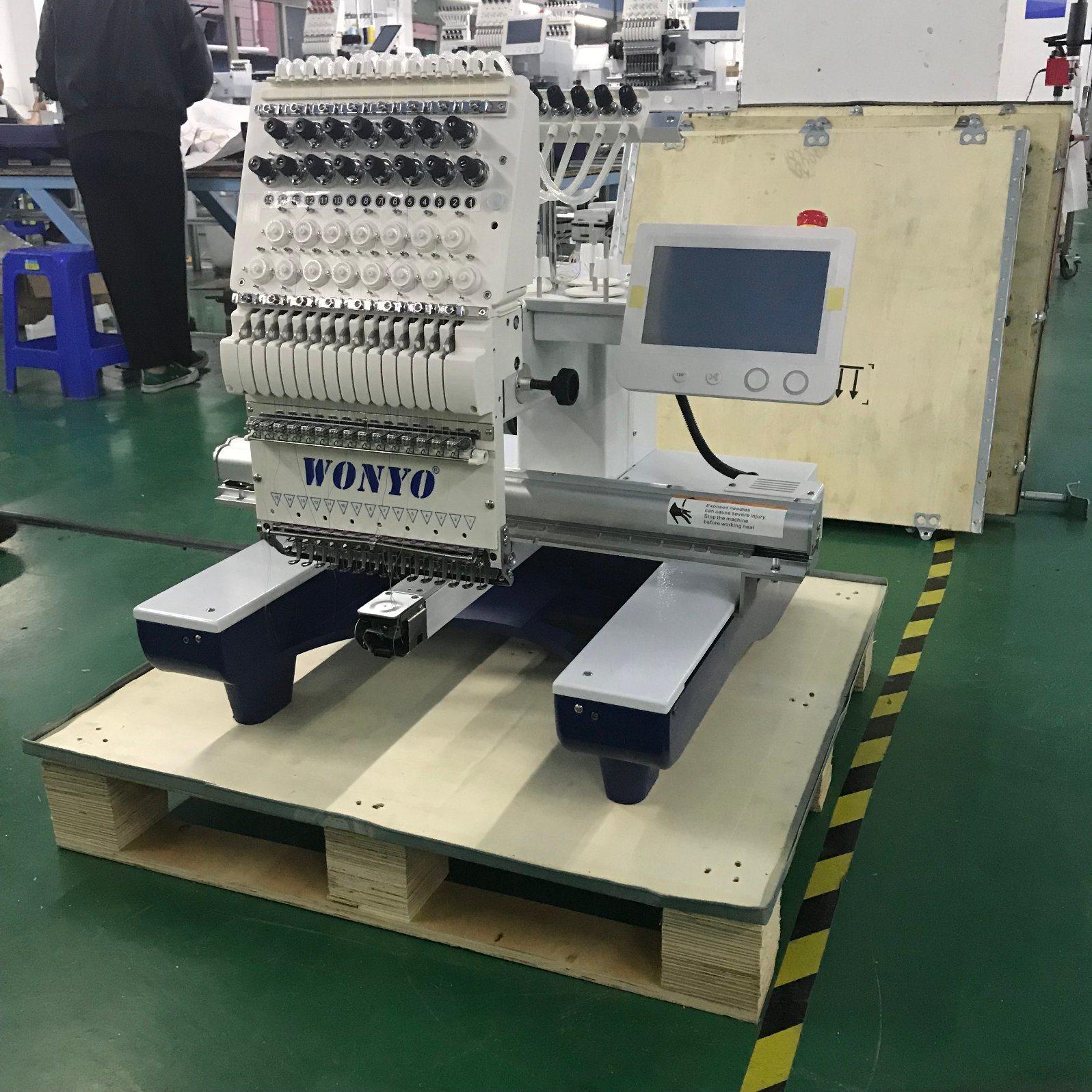 bccbf2aa7ca56 China Single Head Semi-Industrial Cap Embroidery Machine Parts ...