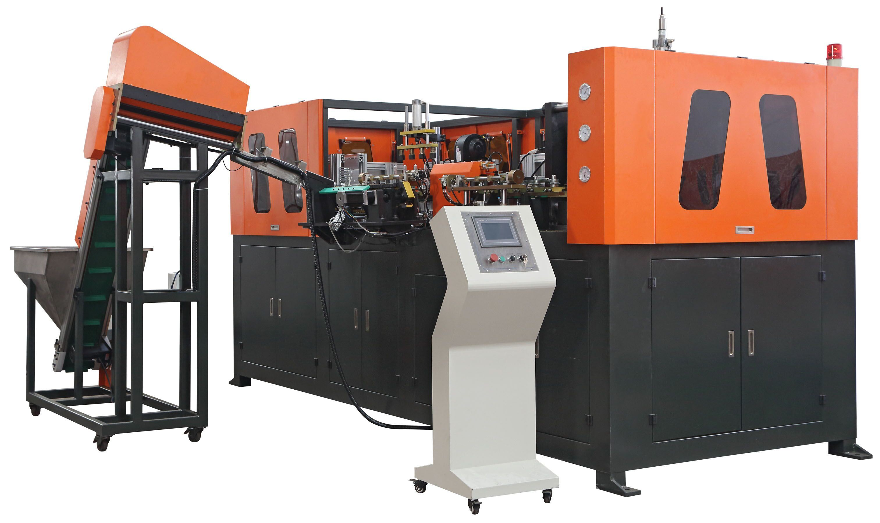 Automatic 4 Cavity Pet Bottle Making Machine