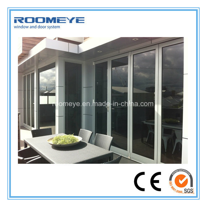 China Roomeye High Quality Well Aluminium Frameless Glass Folding