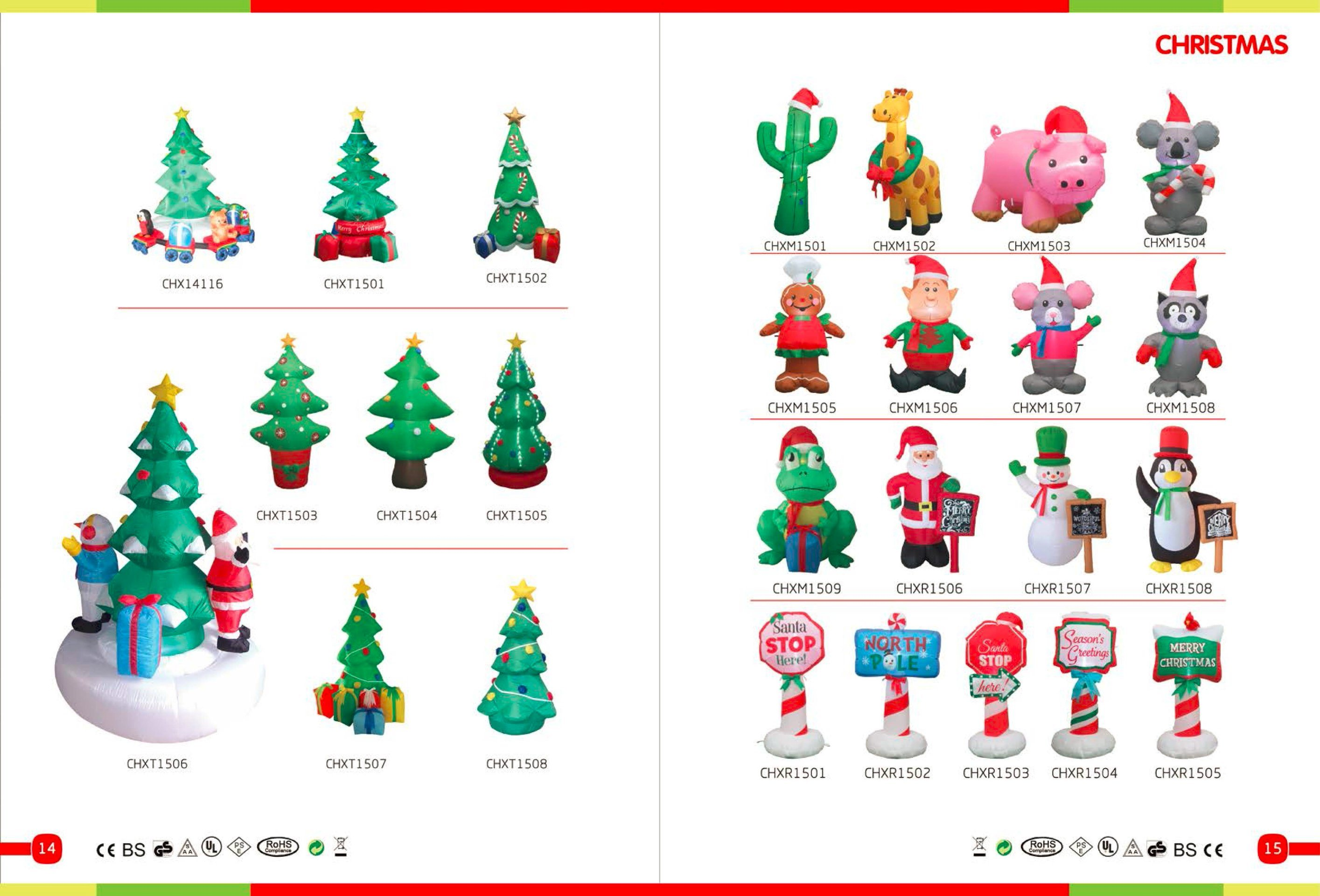 China Customized Happy Inflatable Christmas Snowman with Santa Hat ...