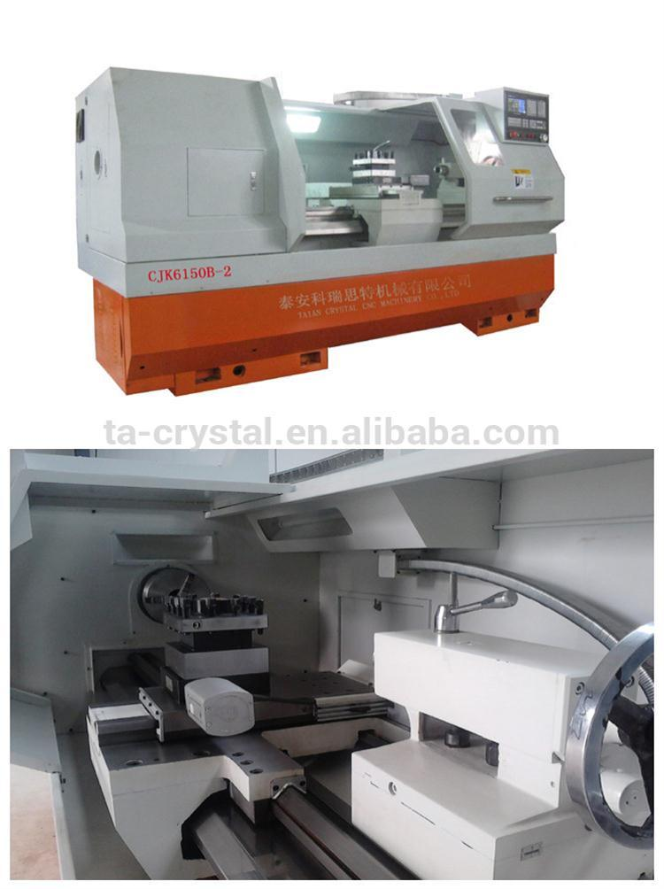 Chinese Metal Lathe CNC Horizontal Lathe Machine (CJK6150B-2) pictures & photos