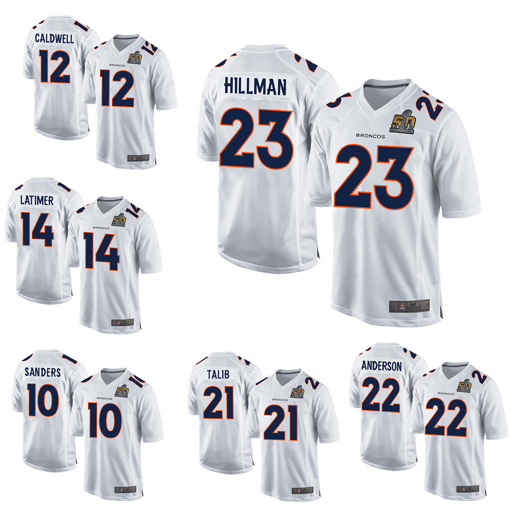 best sneakers 6cc09 9f6f7 [Hot Item] Wholesale Denver Football Jersey Von Miller Custom Any Team