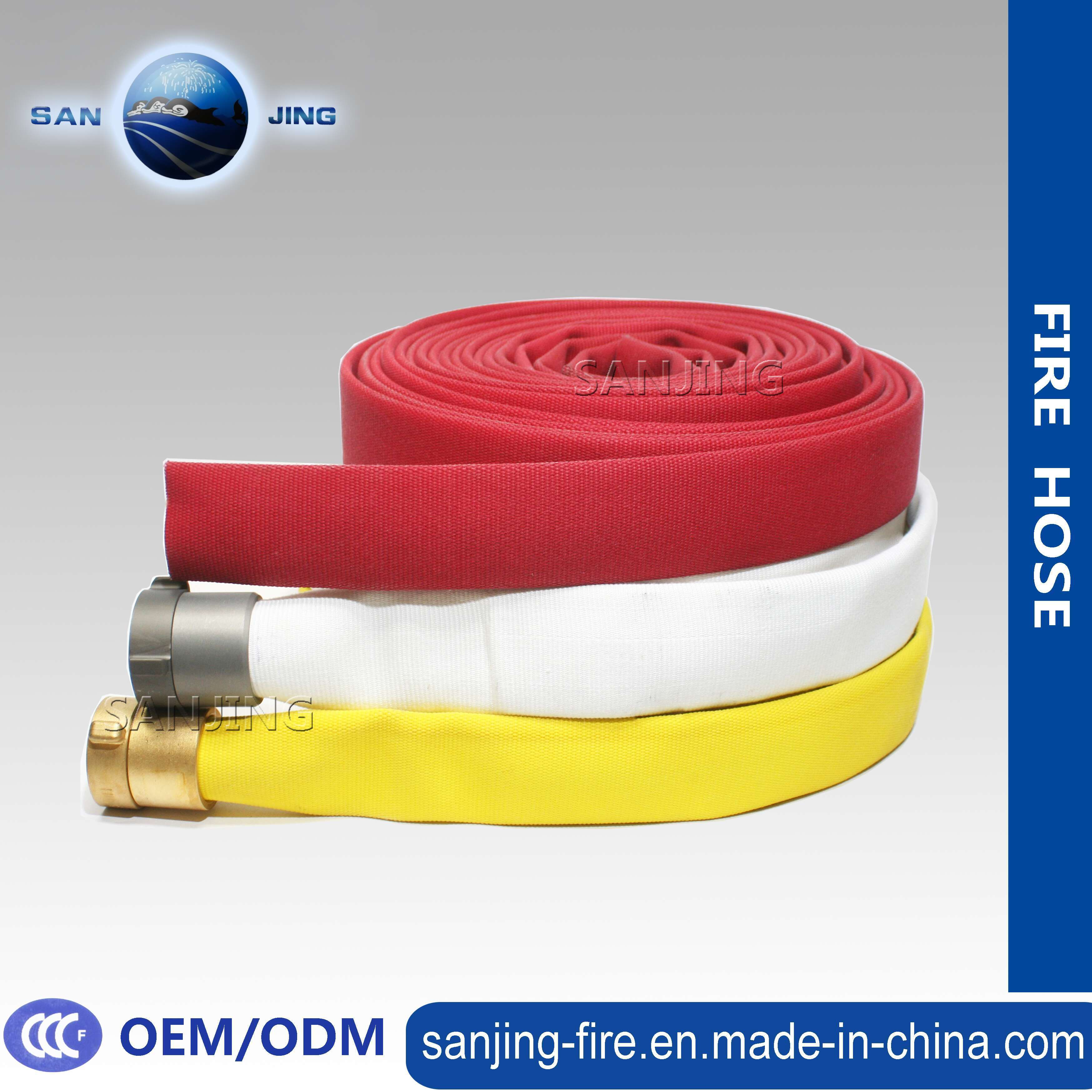 Best Selling Long Service Life Rubber Lining Fire Hose
