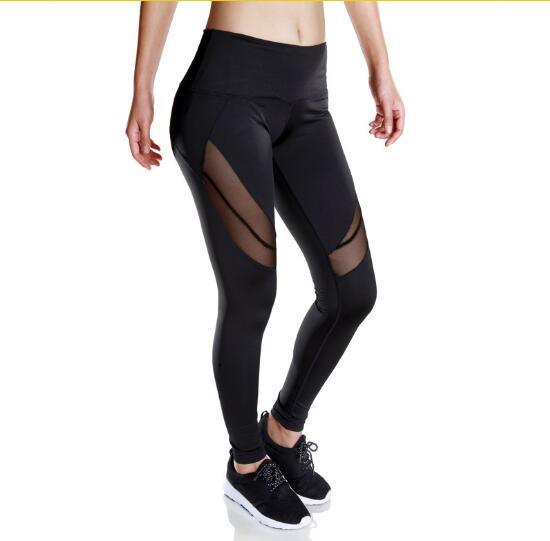 Women/'s High Waist Yoga Pants Stretch Running Workout Leggings Gym Fitness Tight
