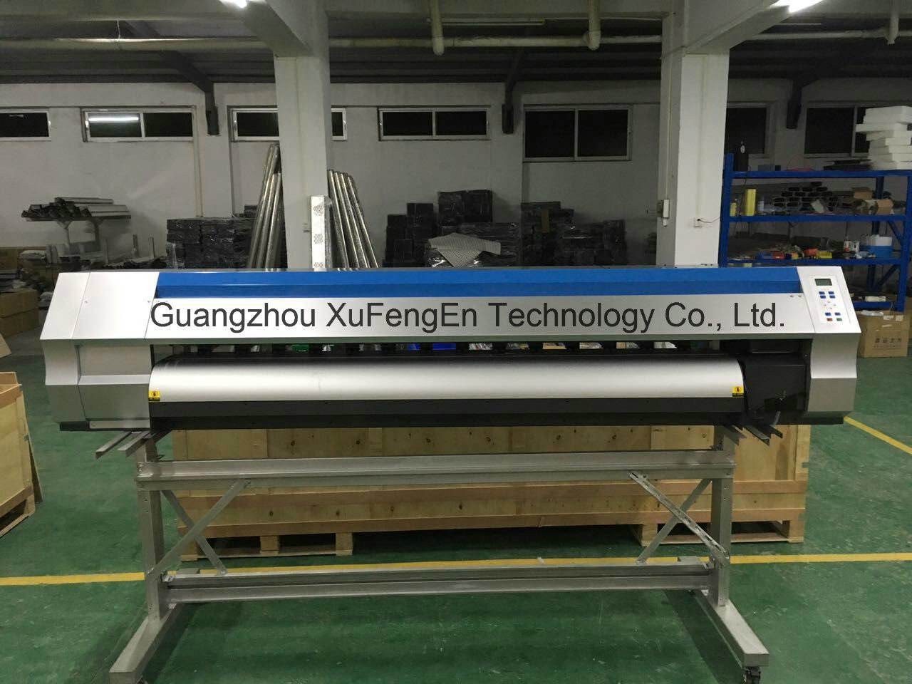 China 1 8m pvc vinyl decal poster graphic digital inkjet printing machine china large format printer eco solvent printer