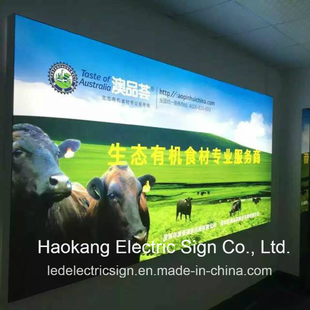 China Advertising LED Outdoor Signs With Lighted Movie Poster Frames    China Lighted Movie Poster Frames, Advertising Signs