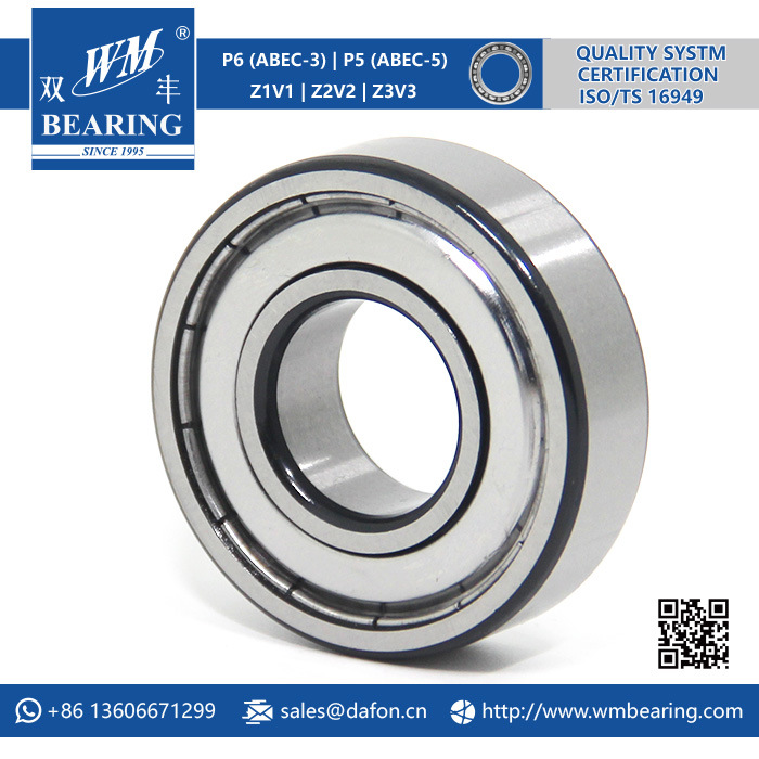 High Speed Chrome Steel 6204 Emq Deep Groove Ball Bearing pictures & photos