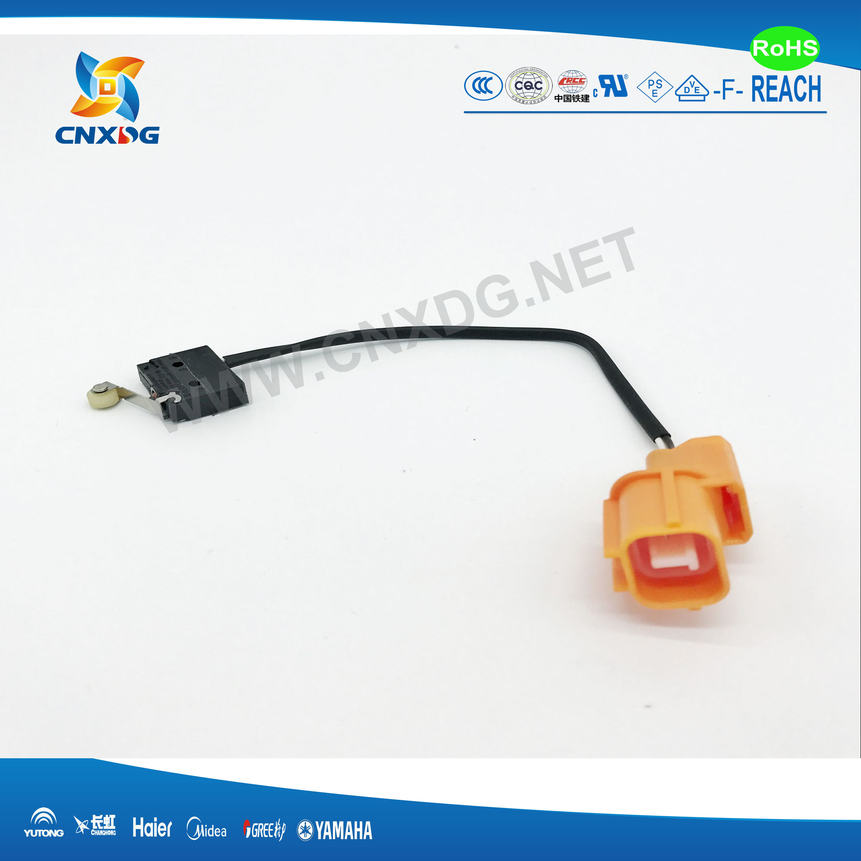 Wire Harness Customized for Automobile Equipment