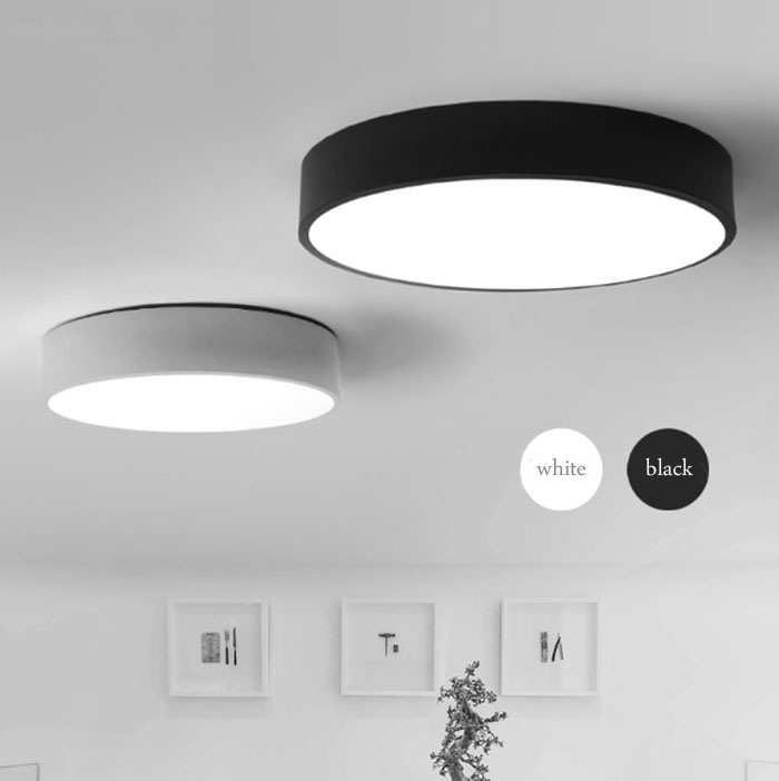 Hot Item Modern Round Indoor Lighting Led Ceiling Lamp Lights Fixtures For Bedroom In 12w 18w 24w 36w 40w