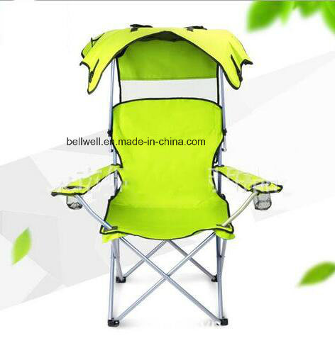 Fine Hot Item Adjustable Outdoor Folding Leisure Camping Fishing Beach Chair With Sun Canopy Fishing Chair Machost Co Dining Chair Design Ideas Machostcouk