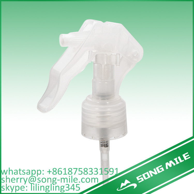 Upside Down Mirco Mini Trigger Sprayer Plastic Screw Cap for Bottles pictures & photos