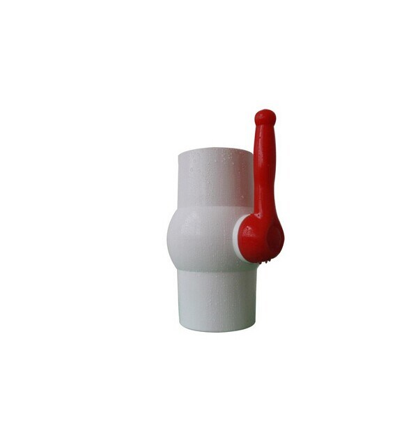 Various Plastic Handle Ball Valve PVC Made in China
