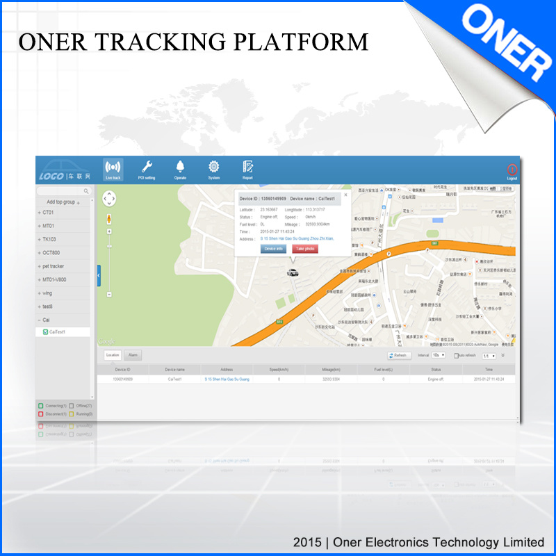 Vehicle Tracking and Fleet Management System pictures & photos