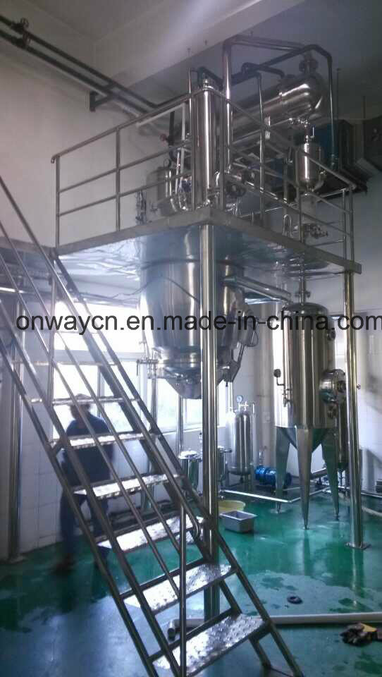 Rh High Efficient Factory Price Energy Saving Factory Price Hot Reflux Solvent Herbal Evaporator Extraction Equipment Pharmaceutical Machine